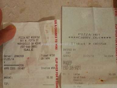 Pizza Hut Pizza review 34753