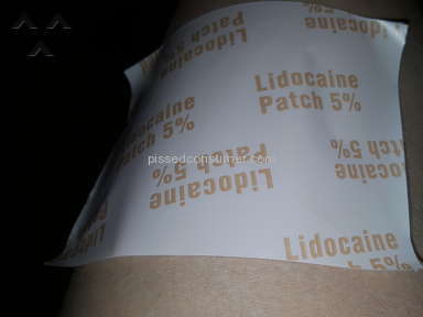 Mylan Lidocaine Patch Review