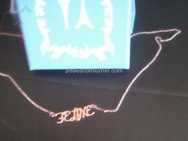 Thegiftnecklace - Necklace Review from Trois-Rivieres, Quebec