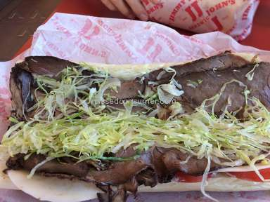 Jimmy Johns - Big John Sandwich Review