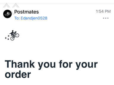 Postmates Food Delivery review 884169