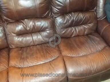 Mealeys Furniture Flexsteel Leather Furniture Set review 125627