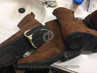 Wolverine Durashocks soles/heels falling apart