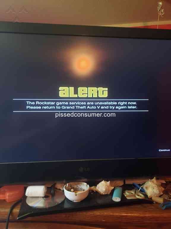 Rockstar Games Grand Theft Auto Video Game Reviews and Complaints