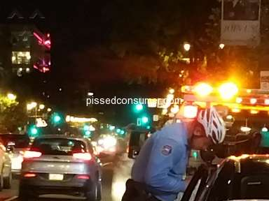 Hit by Zipcar driver while bicycling