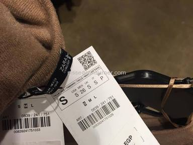 Price increase on all items at zara egypt