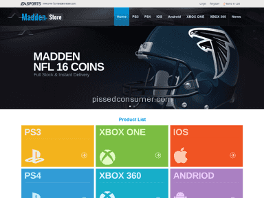 Madden Store E-commerce review 97929