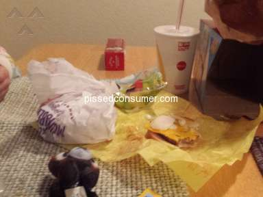Mcdonalds - Horrible food service
