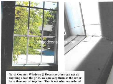 North Country Windows And Doors - Bad customer service