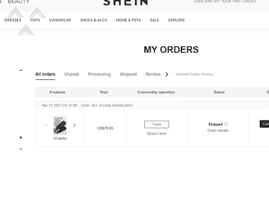 Shein Footwear and Clothing review 1007051