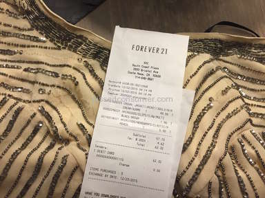 Consumer Fraud- Standardized Practice @ Forever 21