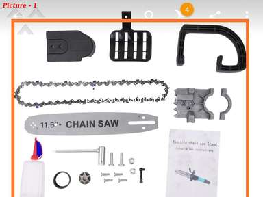 Aliexpress Chainsaw review 367074