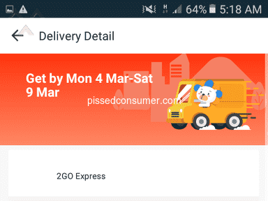 Lazada Philippines Express Delivery Service review 374284