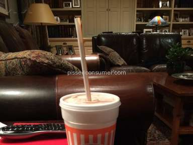 Whataburger - Chocolate Milkshake Review from Fort Worth, Texas