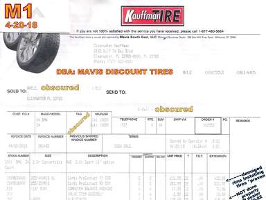 Kauffman Tire Service Centers and Repairs review 300308
