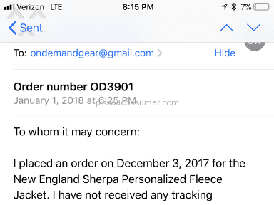 Ondemandgear - It's a scam