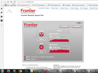 Frontier Communications - SIGN ME UP FOR A CLASS ACTION SUIT!!