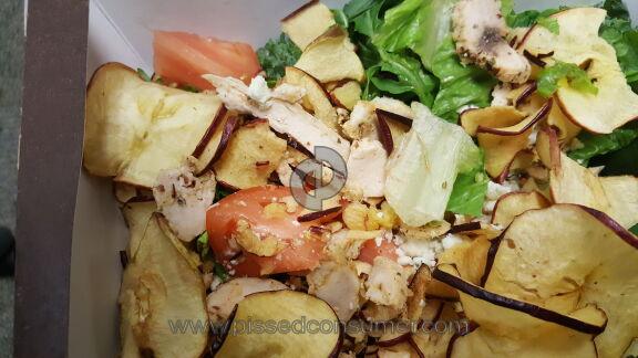 Panera Bread  Fuji Apple Chicken Salad
