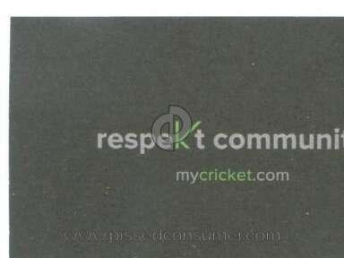 Cricket Wireless Telecommunications review 6506