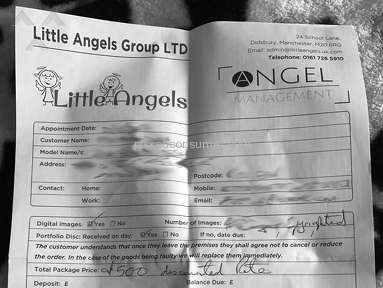 Angel Management Uk - Scam Model Agency - AngelsManagement.co.uk & LittleAngels.uk.com