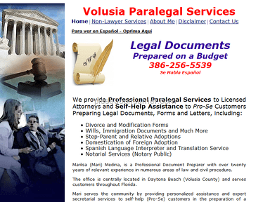 Volusia Paralegal Services Professional Services review 42923