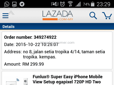 Lazada Malaysia Auctions and Internet Stores review 97303