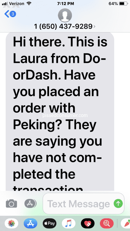 Doordash Reviews And Complaints Pissed Consumer Page 638