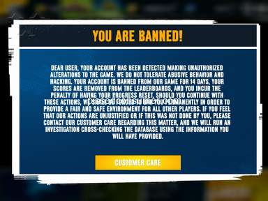Gameloft - Banned