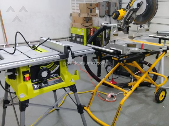 Ryobi Tools Rts21G Table Saw
