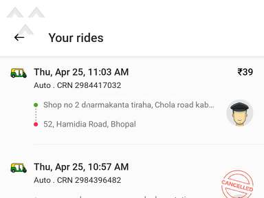Ola Cabs Transport review 674761