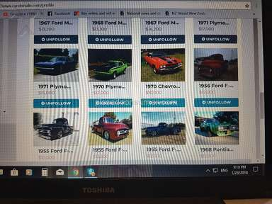 Carsforsale - `Disappearing  cars false listings.