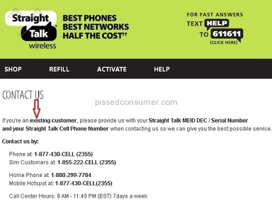 Straight Talk Wireless Customer Care review 191160
