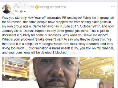 Facebook Employee Harassment/Discrimination