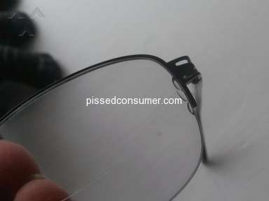 Zenni Optical - Refused responsibility for glasses they knew could easily break.