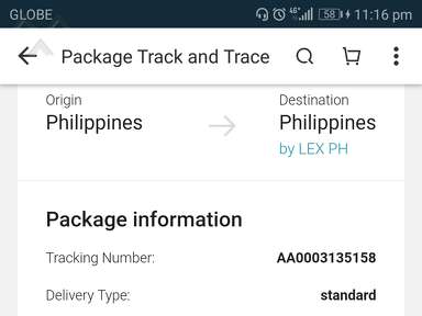Lazada Philippines Courier Delivery Service review 354304