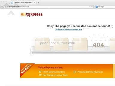Aliexpress E-commerce review 54685
