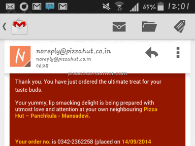 Pizza Hut Pizza review 47723