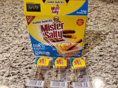 Nabisco - Box missing Items