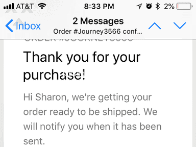 Journey Watch Store - Waiting on July 2 Order...scam!!!
