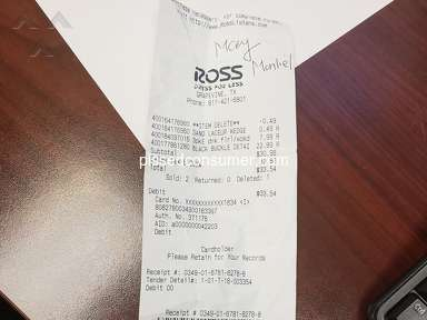 Ross Dress For Less Footwear and Clothing review 336532