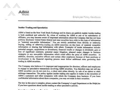 Abm Janitorial Household Services review 264802