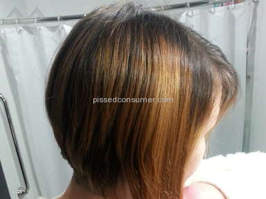 Regis Salons Haircut review 62871