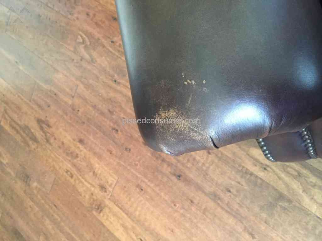 Havertys Furniture   Leather Couch Review From Cedar Park, Texas