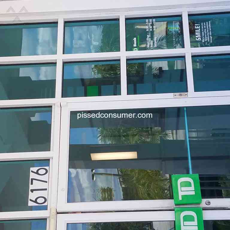287 TD Bank Reviews And Complaints @ Pissed Consumer
