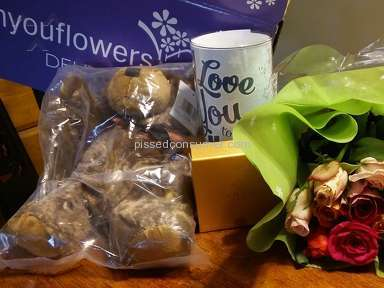 From You Flowers One Dozen Long Stemmed Red Roses With Godiva Chocolates And Bear Arrangement review 131723