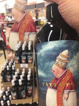 Fatty Pope Paso Robles Wine