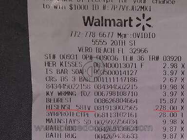 Walmart Receipt Check Facility review 854286