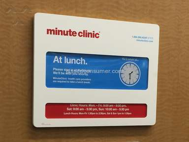 Minute Clinic - Customer Care Review from Detroit, Michigan