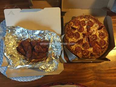 Dominos Pizza Pepperoni Pizza review 144864