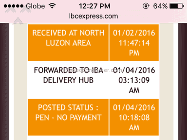 Lbc Express Shipping review 107749